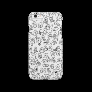 エナメルストア SUZURI店のマエバサンたっぷり Smartphone cases