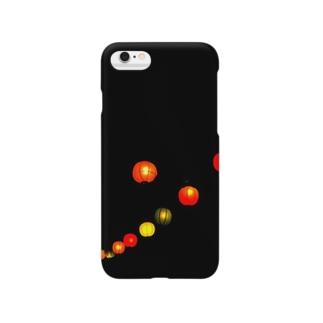 夏の提灯 Smartphone cases