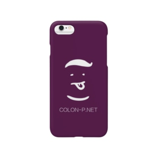 コロンピさんのiPhoneケース(髪の巧カラー) Smartphone cases