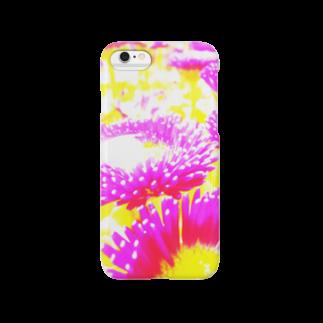 mnmnのデイジー Smartphone cases