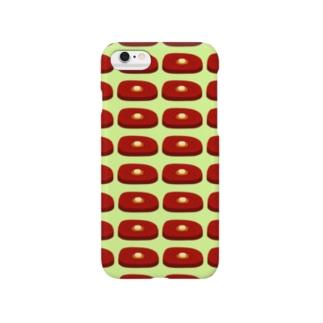 ステーキ(緑) Smartphone cases