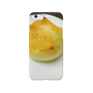 パン焼き上がりました スマートフォンケース