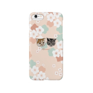 Meau!桜と猫のiPhoneケース Smartphone cases