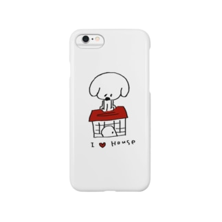 I Love House Smartphone cases