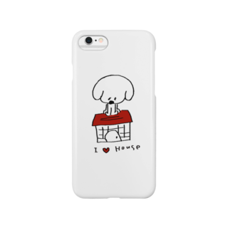egu shopのI Love House Smartphone cases