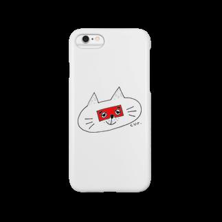 CUROGNACのにわかトロンにゃんこ Smartphone cases