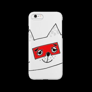 CUROGNACのにわかトロンにゃんこB Smartphone cases