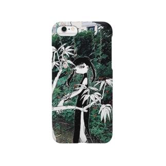 植物と女 Smartphone cases