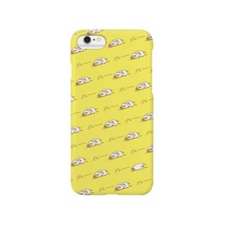 インコのぷえー(きいろ) Smartphone cases