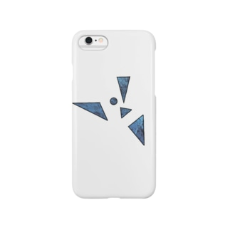 鋭利な青 Smartphone cases