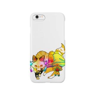 色狐(黄) Smartphone cases