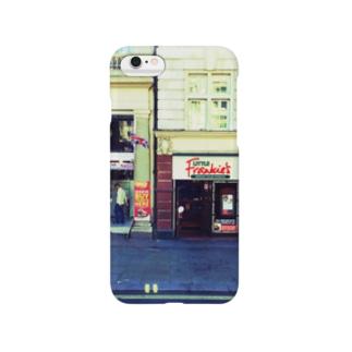 空色の地図〜ロンドンの街角 Smartphone cases