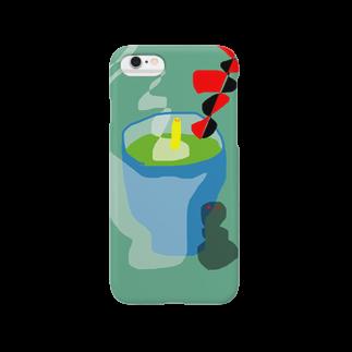 dorochanの茶柱 Smartphone cases
