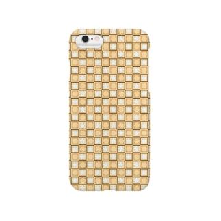 星とハニカム Yellow ver Smartphone cases