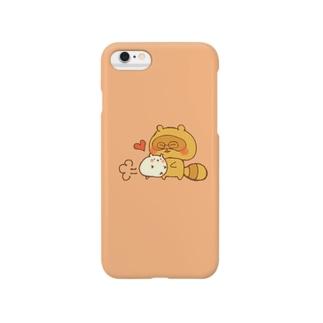 たぬたぬとはむちゃん(なかよし) Smartphone cases