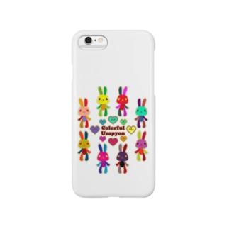 うさぴょん2 Smartphone cases
