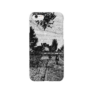 公園の道2 Smartphone cases