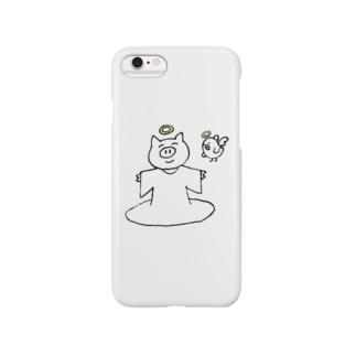 神トコトン Smartphone cases