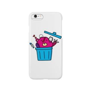捨てクマ Smartphone cases