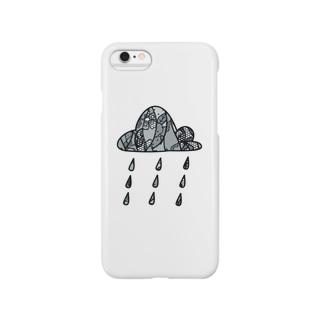 レース雲 Smartphone cases