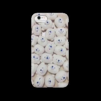 Yumiyanのしろくままみれ Smartphone cases
