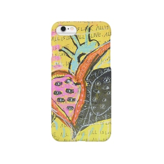STRONG HEART04 Smartphone cases