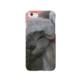 ちらりっロシアンブルー(よこ) Smartphone Case
