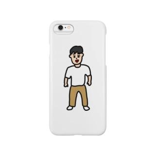 その男、穏和につき Smartphone cases