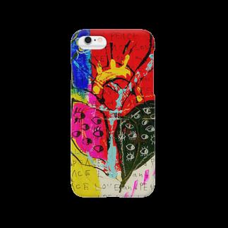 DoiMayumiのSTRONG HEART16 スマートフォンケース