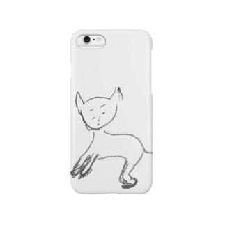 玲子「猫」あげいん Smartphone cases