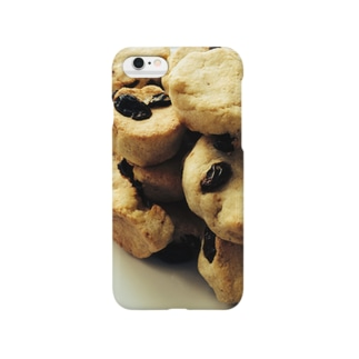 レーズン入りクッキー スマートフォンケース