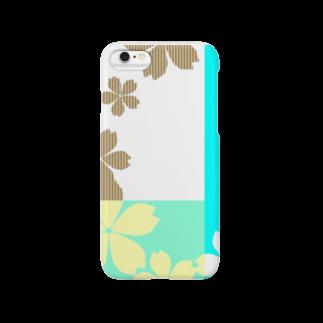 WBKshopの桜夏カラー Smartphone cases
