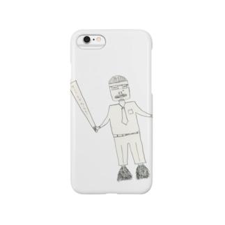 サブカル妖怪シリーズ - リストラリーマン Smartphone cases