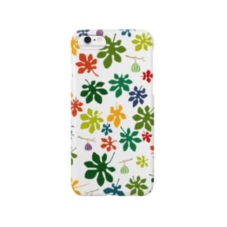 カラフルいちじく Smartphone cases