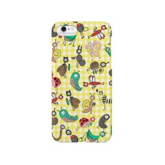 きいろのむしさん Smartphone cases
