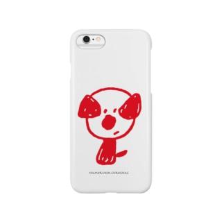 mamoruken(まもるけん!)red Smartphone cases