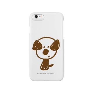 mamoruken(まもるけん!)brown Smartphone cases