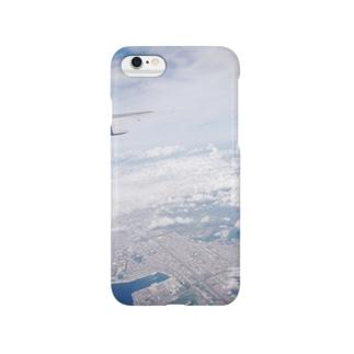 飛行機から。 Smartphone cases