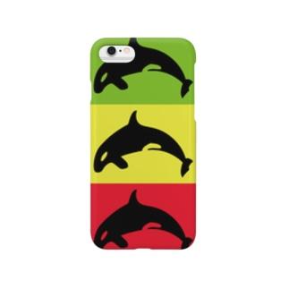 シャチーズ Smartphone cases