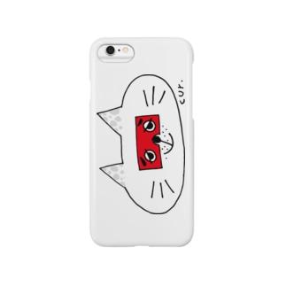 にわかトロンにゃんこT Smartphone cases