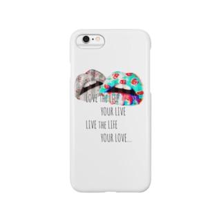 毒々しいキス Smartphone cases