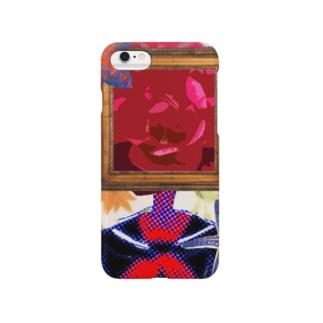 女子高生を吸い上げて咲いた花 Smartphone cases