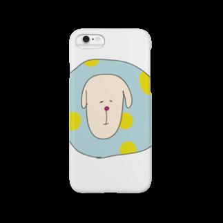 kanokokudoのほほえみいぬ。 Smartphone cases