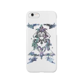 幾年月の巫女 Smartphone cases
