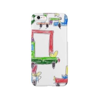 働く車の群れ part2 Smartphone cases