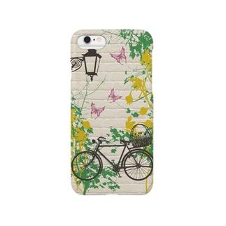 自転車でおでかけ Smartphone cases