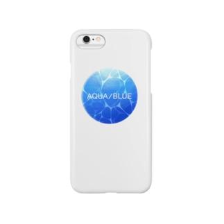 AQUA/BLUE Smartphone cases