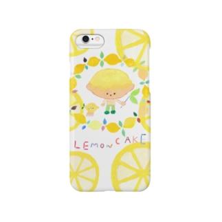 レモンケーキくんグッズ Smartphone cases