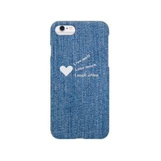 デニム Smartphone cases