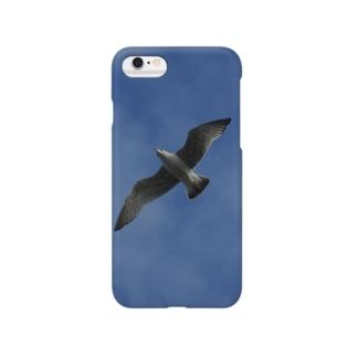 大空をかける鳥 Smartphone cases